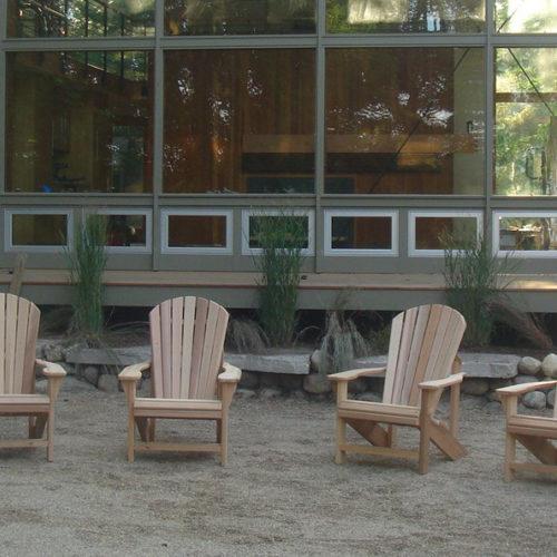 Chairs Shown in Cedar