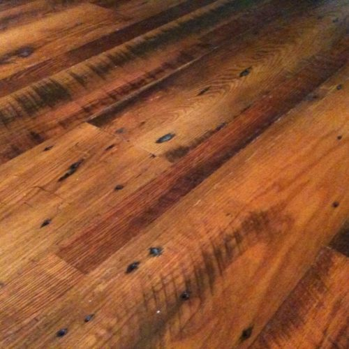 Antique Reclaimed Oak Flooring