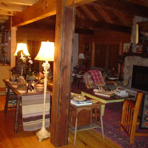 Antique Reclaimed Pine Beam Wrap 2x12