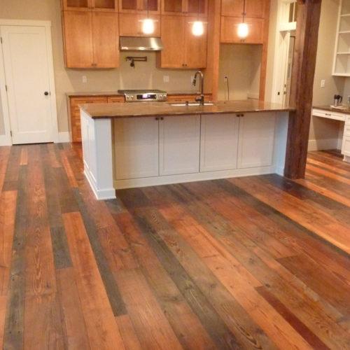 Antique Reclaimed Pine Flooring
