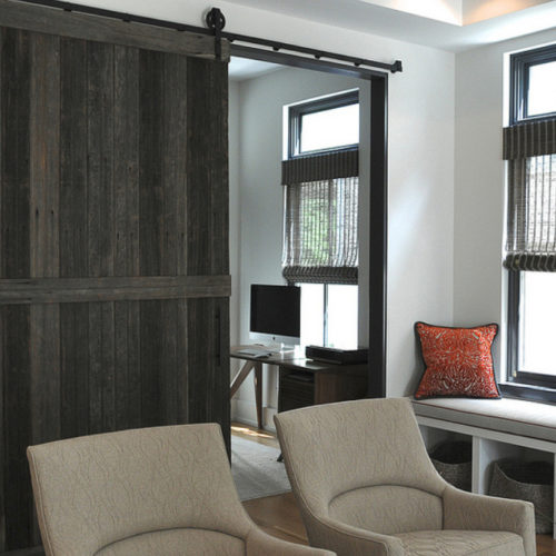 Reclaimed Barn Wood Sliding Door