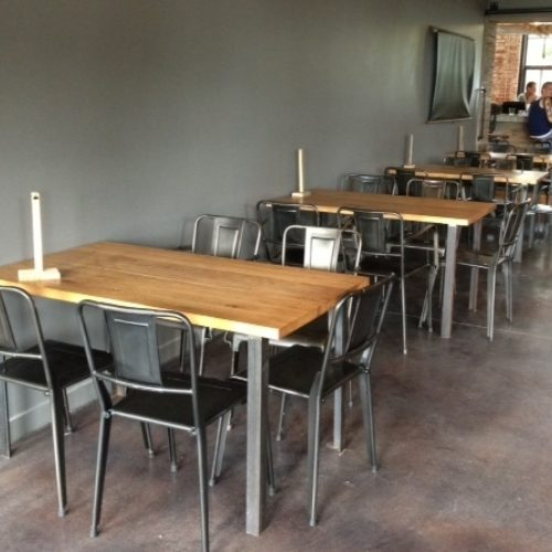 Dining Table Tops in Antique Reclaimed Wood