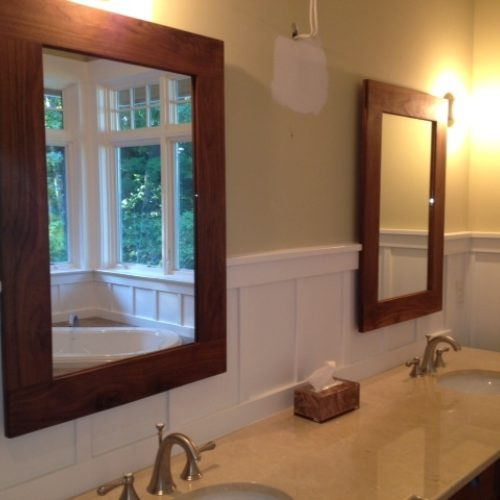 Mirror Frames in Walnut