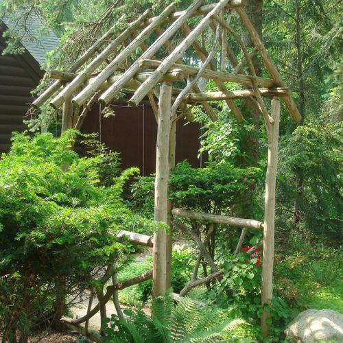 Pergola in Cedar