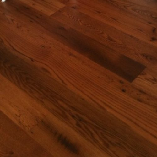Reclaimed Antique Wide Plank Oak Flooring