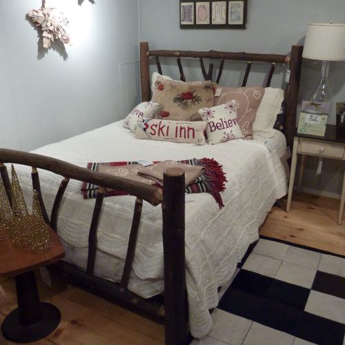 Rustic Hickory Forest Bed
