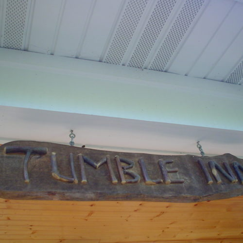 Rustic Twig Sign