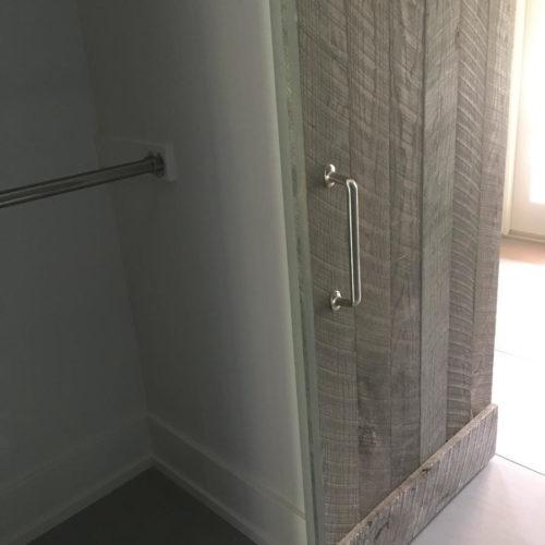 Reclaimed Weathered White Pine Door