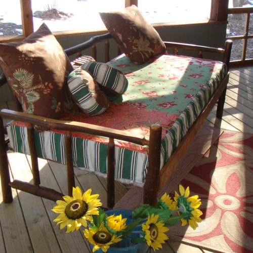 Rustic Hickory Daybed